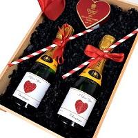 Miniature Champagne hamper