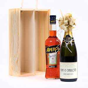 Personalised Prosecco & Aperol Gift Set