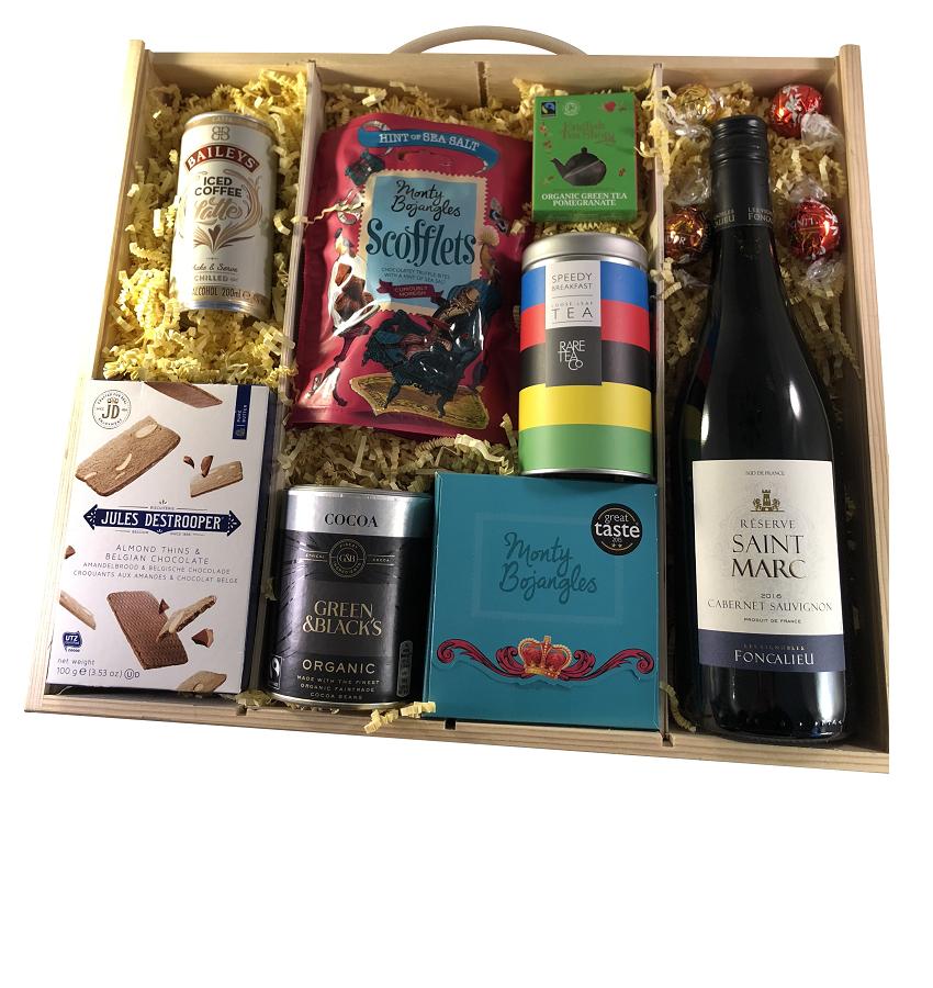 """""""Taste Of Indulgence"""" - Personalised Christmas Selection Box"""