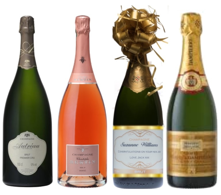 Special Cuvée Champagne Magnum Collection - Gift Set Of 4 Magnum...