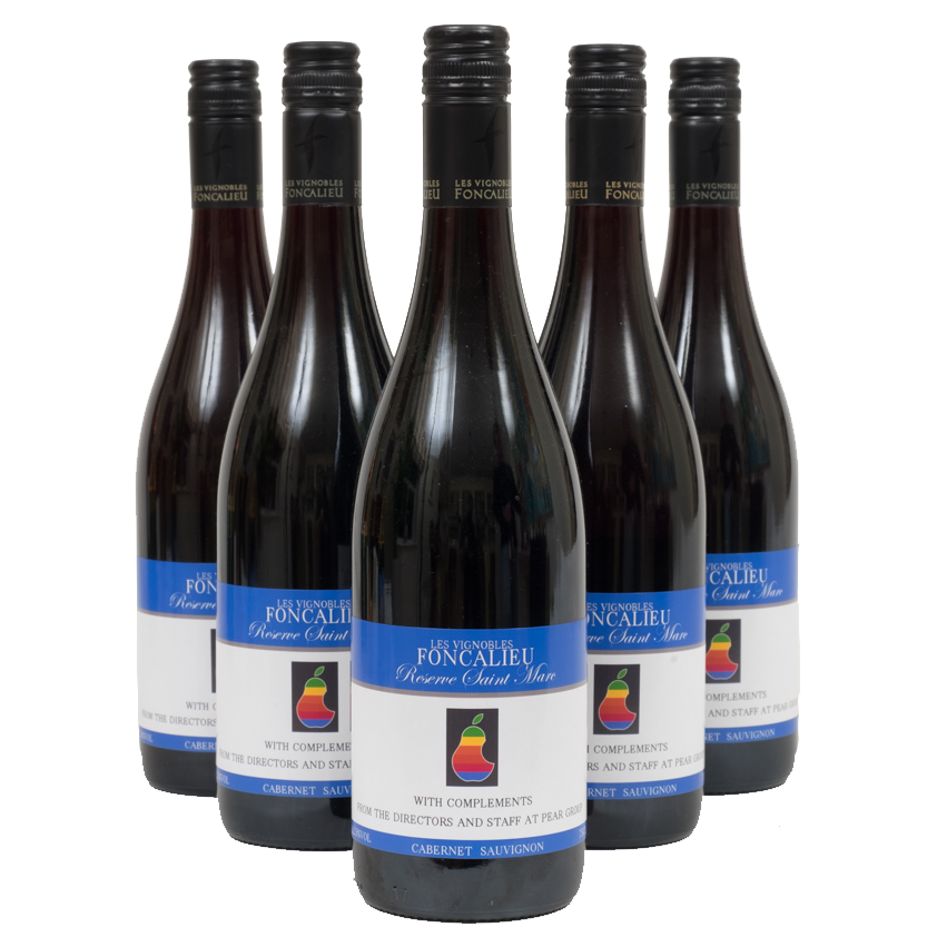 6 Bottles Of Personalised Red Wine - South Of France