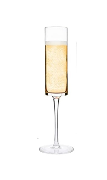 """Beauvoir"" Crystal Hand Blown - Tall Champagne Flute"