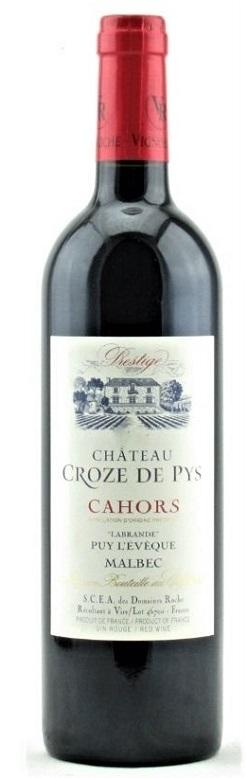 Fine Wine, Chateau Croze De Pys -  Red Wine Malbec, Cahors