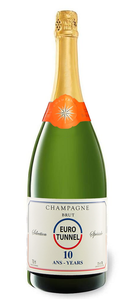 Branded Champagne Magnum - Classic Champagne