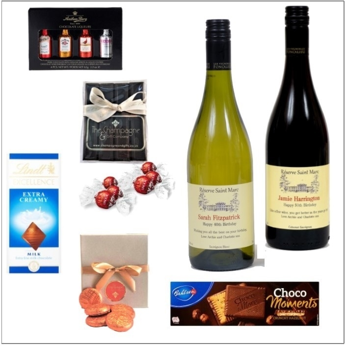 """Classic Combination""  - Wine & Chocolate - Build Your Own Hamper..."
