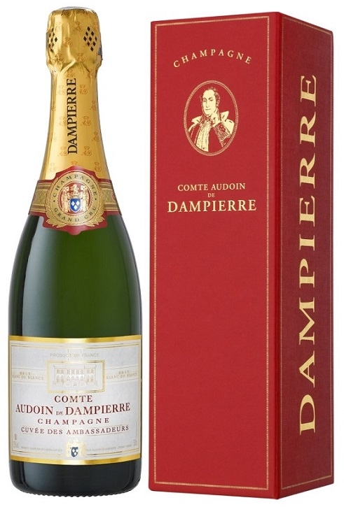 Comtes De Dampierre Champagne Magnum - Cuvée Des Ambassadeurs -...