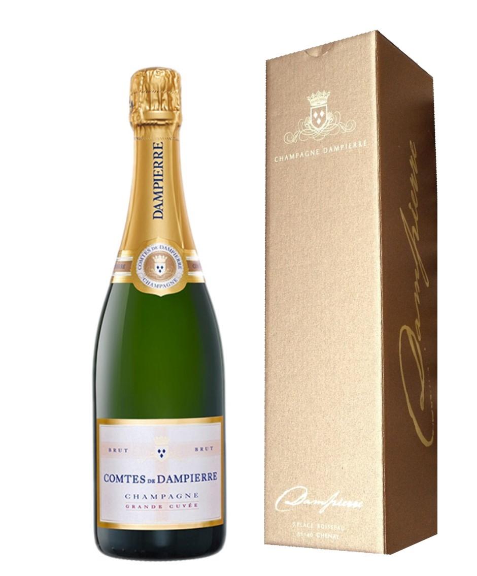 Comtes De Dampierre Grande Cuvée Champagne In Gift Box