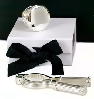 Silver Champagne Accessories