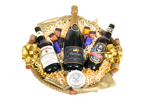 """Murray"" - Corporate Champagne & Beer Hamper"