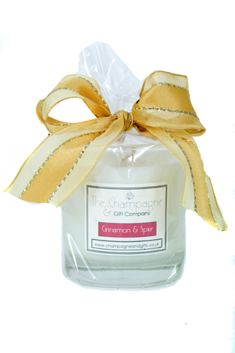 Luxury Personalised Prosecco And Scented Candle Gift Set