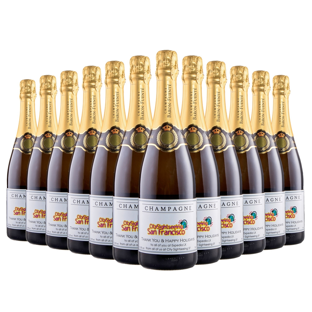 Corporate Branded Champagne (Case Of Twelve)