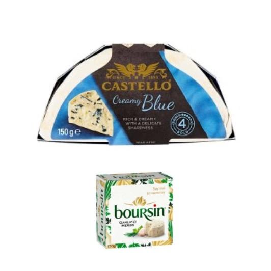 Luxury Creamy Cheese Selection