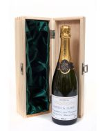 Personalised Champagne in wooden box