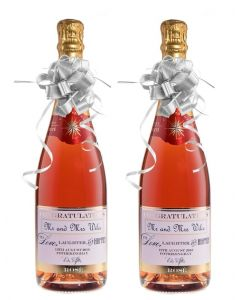 2-bottles-gift-set-personalised-rose-champagne-for-wedding
