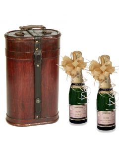 vintage-case-and-two-half-bottles-personalised-champagne
