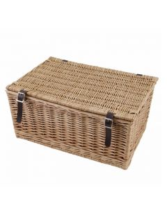 Large Classic Wicker Hamper - Perfect  for 10 to 15 items