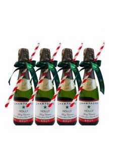 miniature-champagne-premier-cru-christmas-decorated