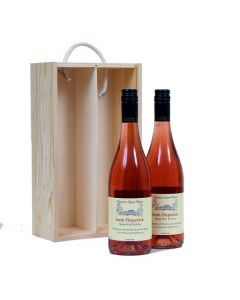 duo-of-personalised-rosé-wine-in-wooden-box