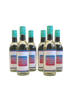 Personalised White Wine  x 6 - Branded for Business