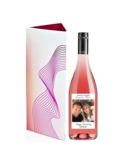 personalised-rose-wine-with-contour-box