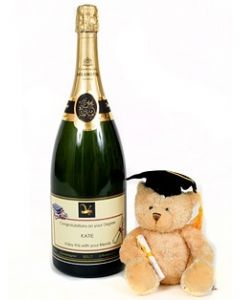 Personalised-Graduation-Champagne-Magnum-with-Bear