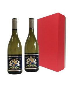 Duo-corporate-branded-white-wine-in-red-presentation-box