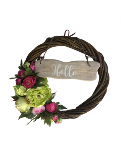 beautiful-summer-wreath-hand-crafted-individual-gift-saying-hello