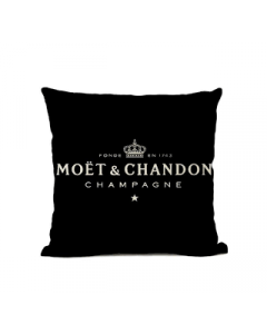 black-linen-moet-cushion