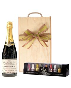 personalised-champagne-and-liquer-chocolates-in-wooden-box