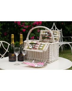 "The ""Hyde Park"" Picnic Hamper - with 2 Bottles Personalised Champagne"