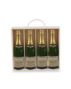 4-bottles-christmas-personalised-champagne-in-wooden-gift-box