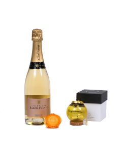 Personalised Champagne with Bauble