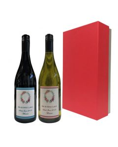 gift-of-personalised-wine-red-and white-wine-in-red-presentation-box