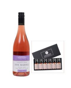Personalised-Rosé-Wine-with-Essentails-Oils-Gift-Set