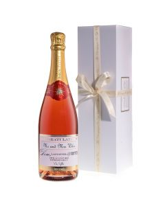 Personalised-Rosé-Champagne-in-white-box