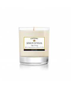 Luxury Personalised Scented Candle - Gift For Him