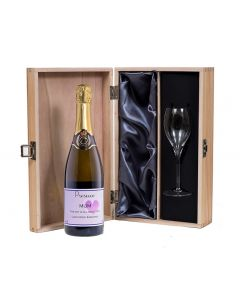 Personalised-Prosecco-with-flute-in-wooden-box