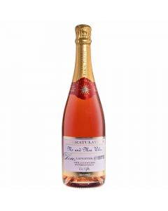 Personalised Wedding Rosé Champagne Gift