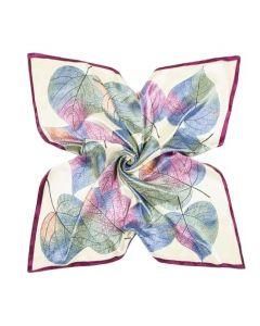 luxury-silk-scarf-muted-pink-and-green-leaves-design