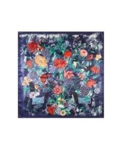 luxury-silk-scarf-muted-colourful-flower-design