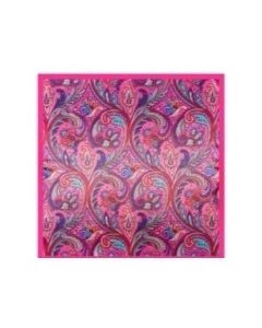 luxury-silk-scarf-hot-pink-swirl-design