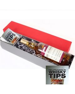 Personalised Blended Scotch Whisky Gift Set with The Little Book of Whisky Tips