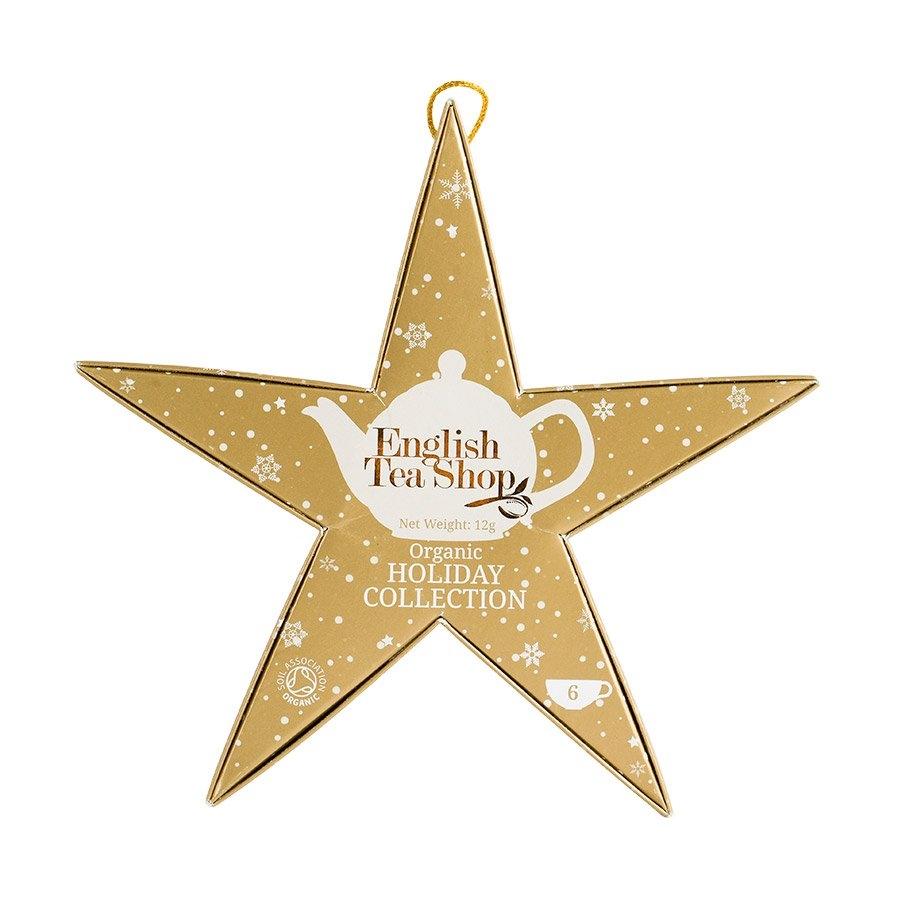 Pyramid Tea Collection - Gold Star Gift Box