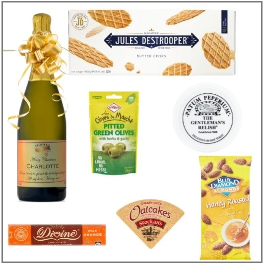 """Fancy A Nibble""  - Personalised Prosecco & Food Hamper - Build..."