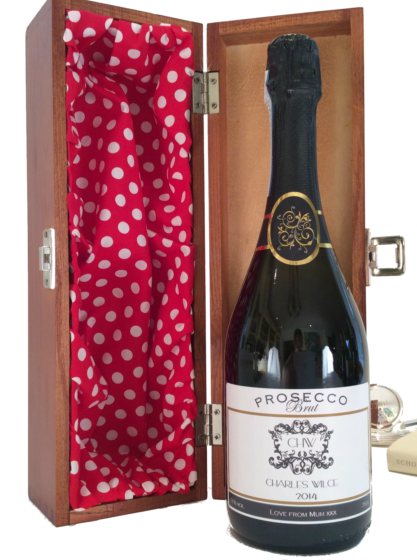 Fifth Avenue - Personalised Prosecco Gift Set