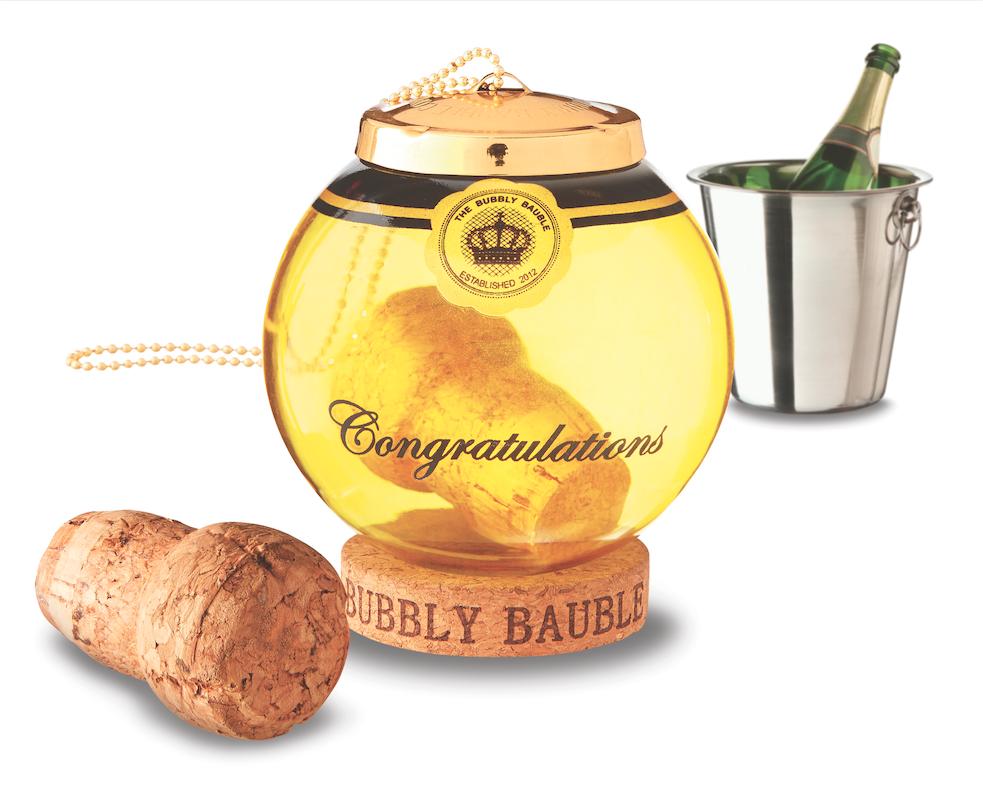 Bubbly Bauble - Champagne Cork Keepsake