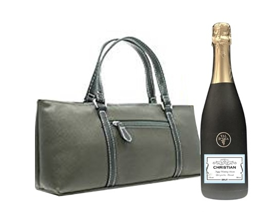 """Henley"" Ladies Coolbag - Complete With A Vintage Prosecco"