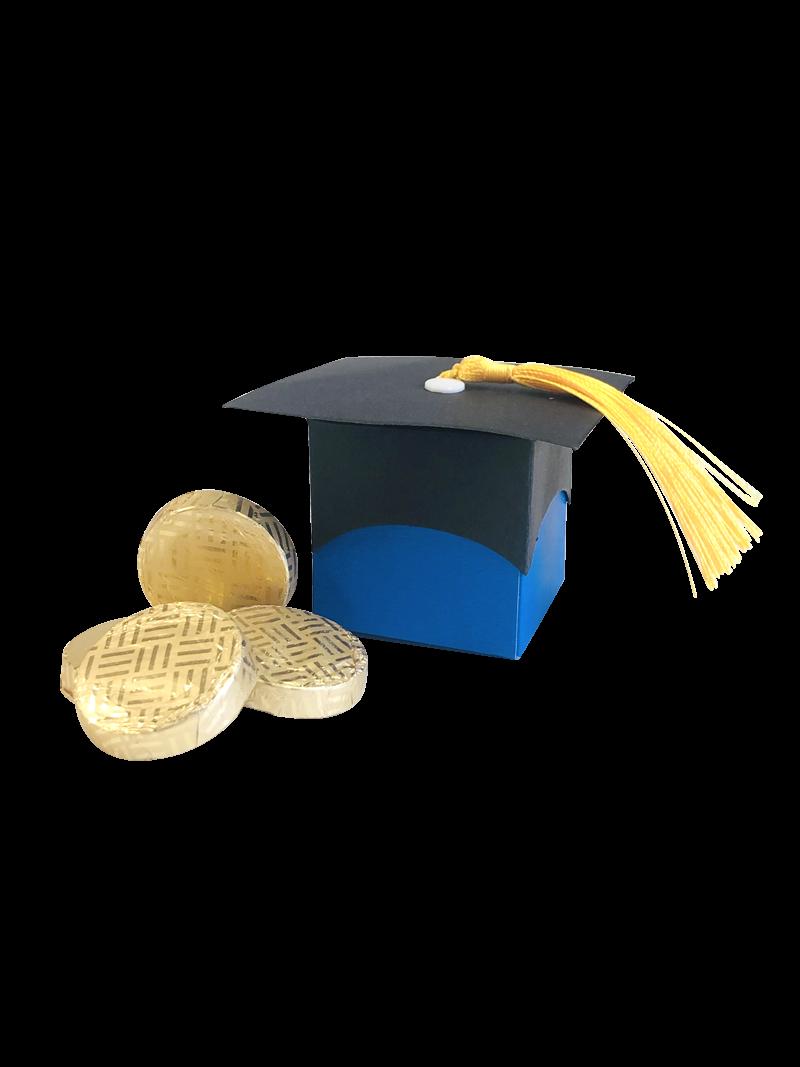 """Congratulations"" Mint Chocolates - In Graduation Mortar Hat Box"