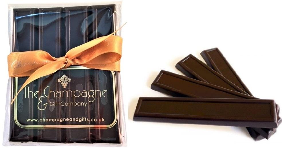 Deliciously Dark Luxury Chocolate Batons