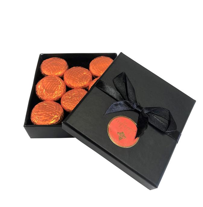 """Arancio"" Chocolate Orange Creams - In Black Gift Box - 1st Year..."